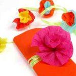 Flores en papel crepe espectaculares