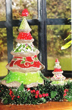 Arbolito para Navidad en papel maché – Blog Manualidades