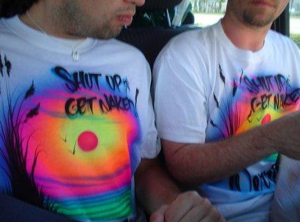 Camiseta aerografiada
