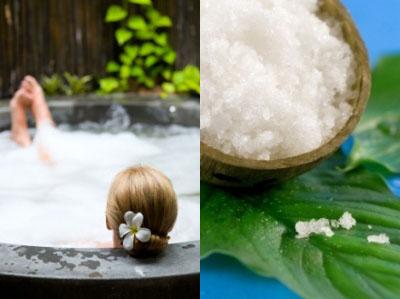 baño refrescante