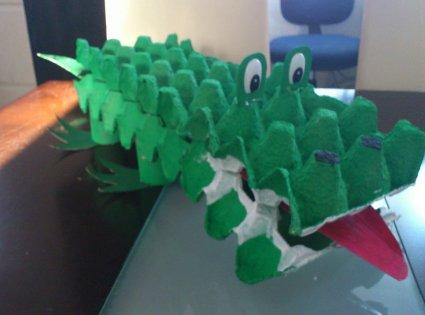Cómo crear un cocodrilo