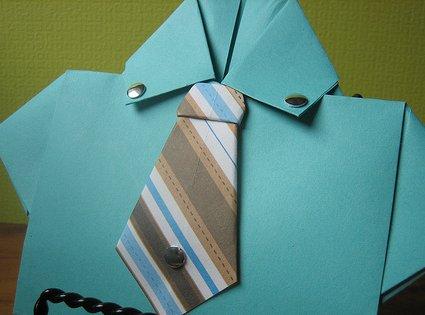 Origami: corbata