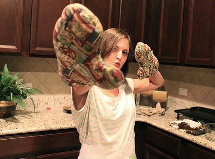 Hacer una manopla de cocina