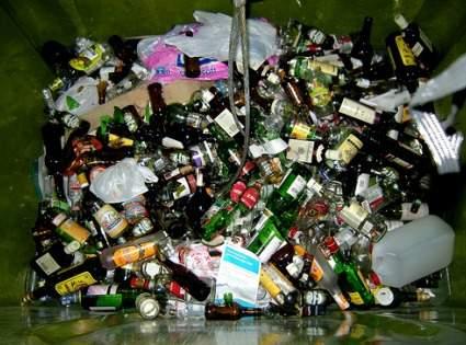 Manualidades con vidrio reciclado