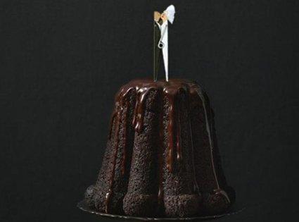 Adorno para el pastel de boda