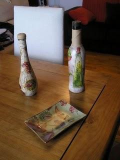 Botellas De Vidrio Decoradas Blog Manualidades