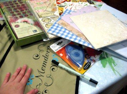 Collage y scrapbook