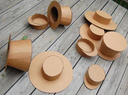Hacer un sombrero de cartón