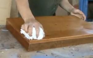 C mo tratar la madera encerada blog manualidades - Como tratar la madera ...